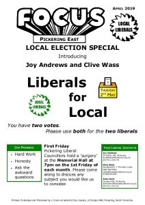 thumbnail of 20190425 – Introducing your candidates – Joy and Clive